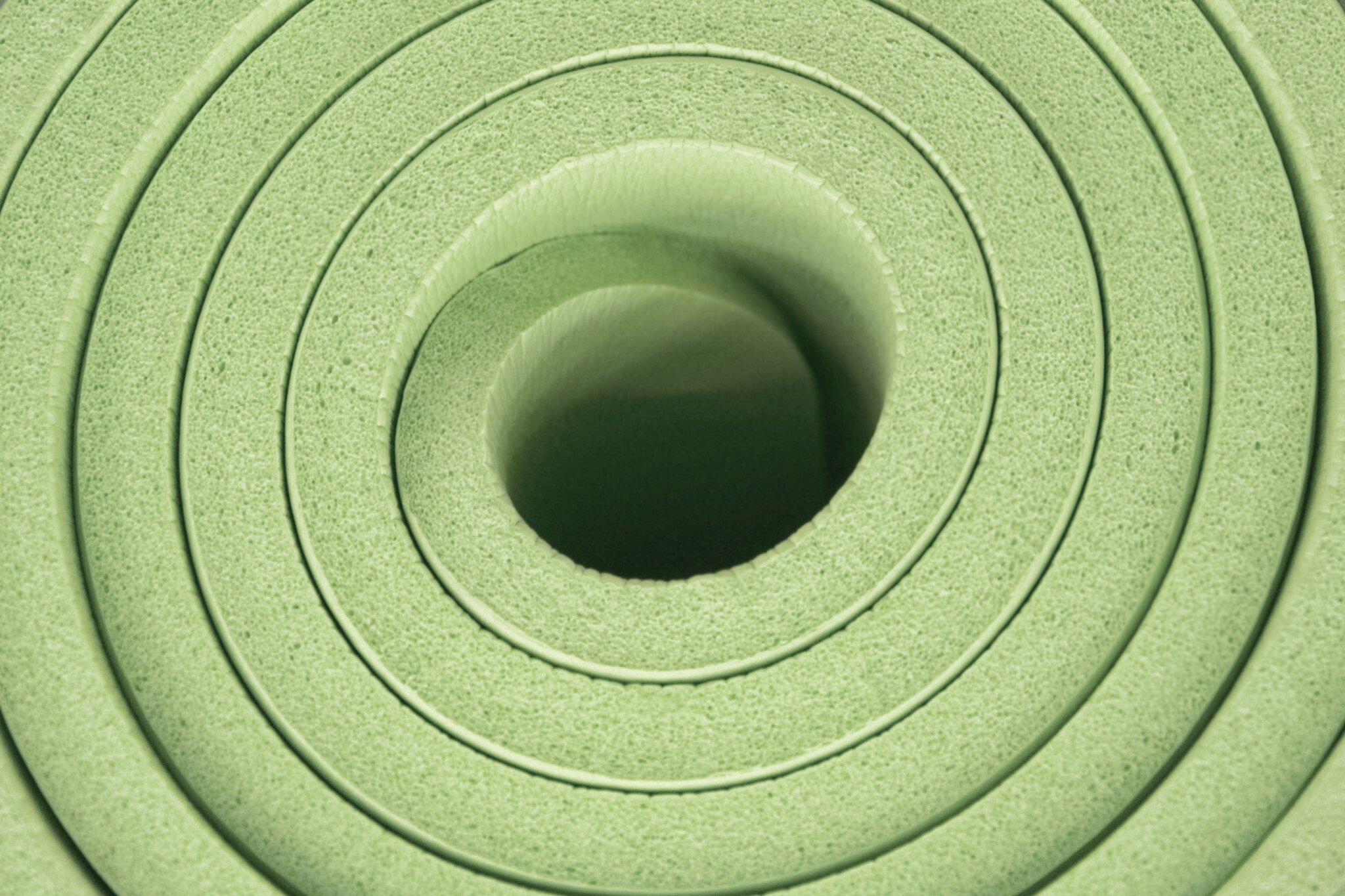 NBR yoga mats are among the thickest on the market and offer good cushion for bad knees.