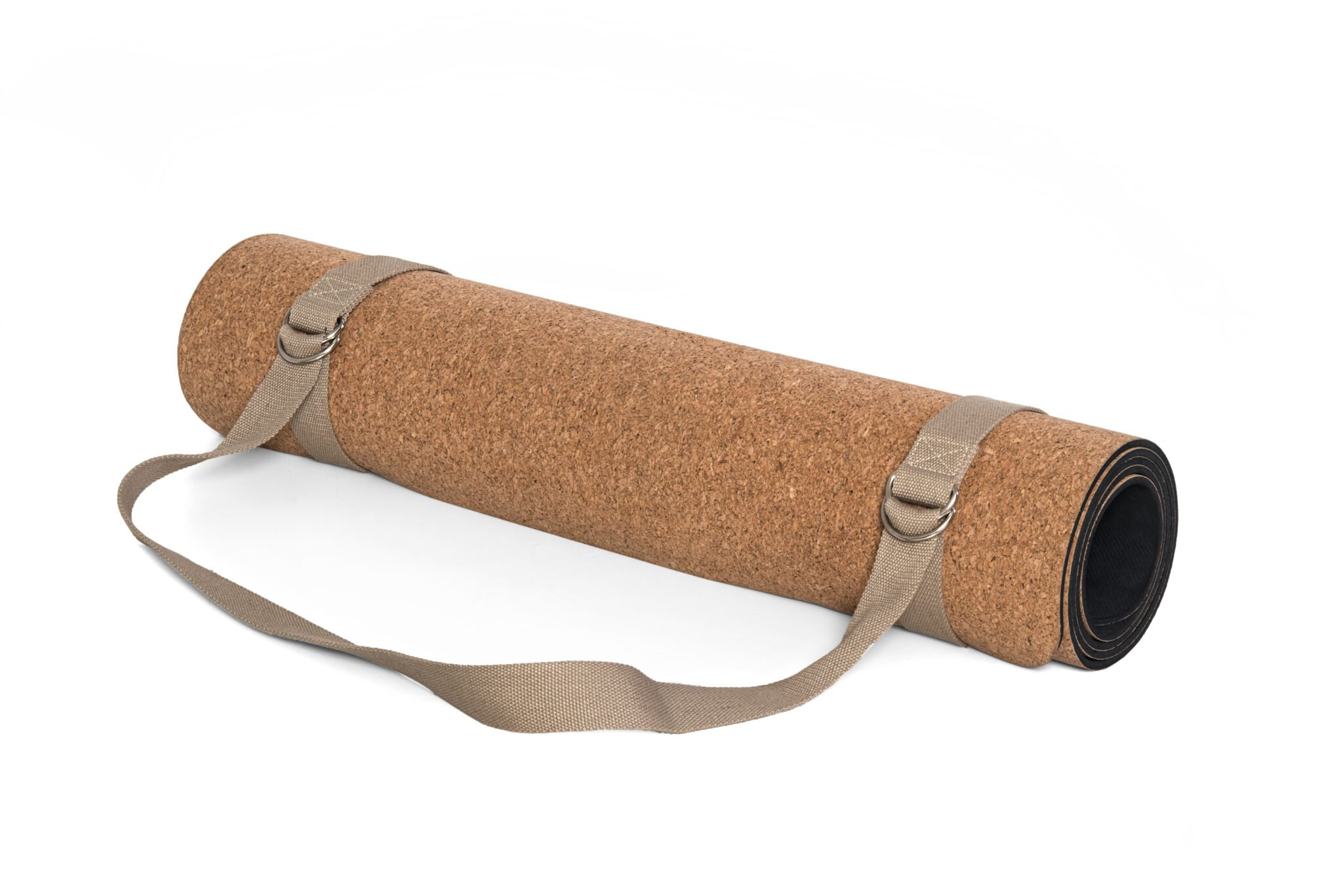 Cork yoga mats are antimicrobial and perfect for yogis with sweaty palms.