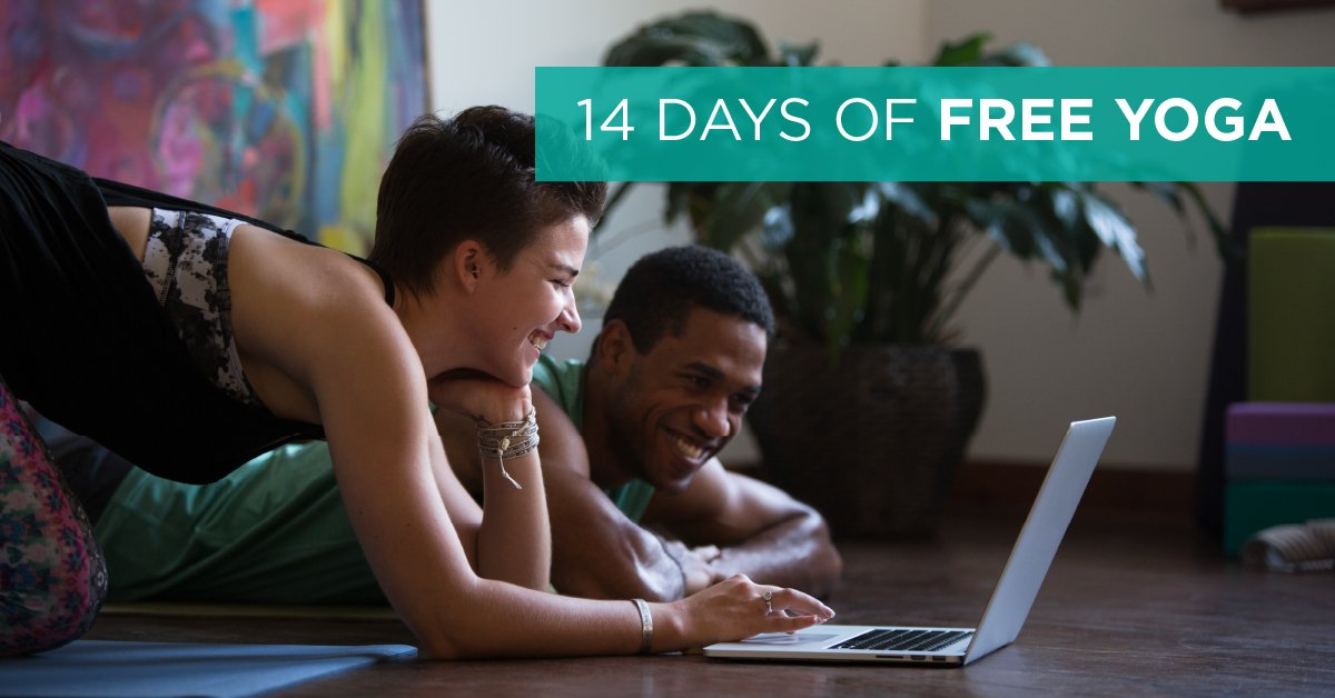 Want 14 days of free yoga? Cancel anytime