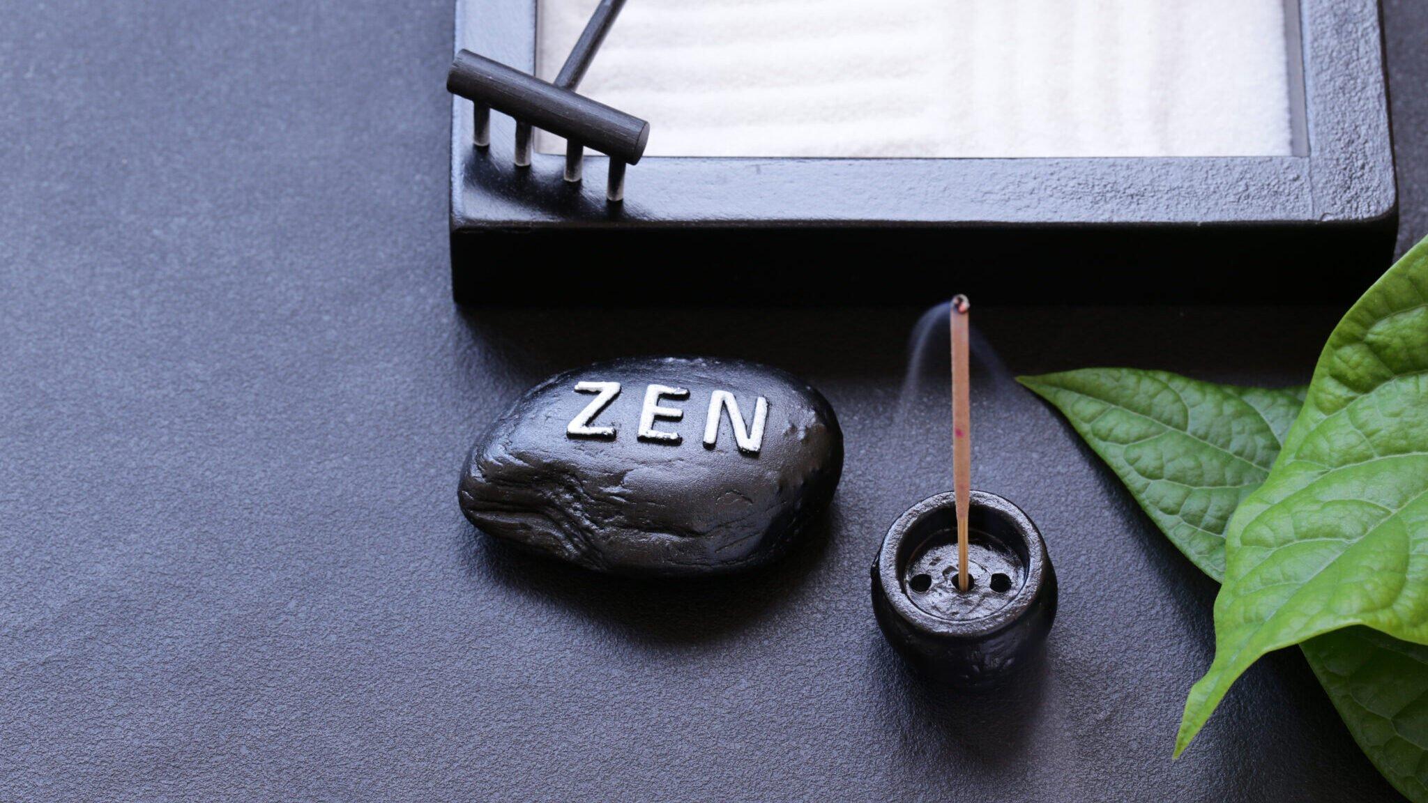 zen gifts for spiritual people. zen garden