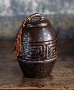 Chinese Ceramic Tea Jar