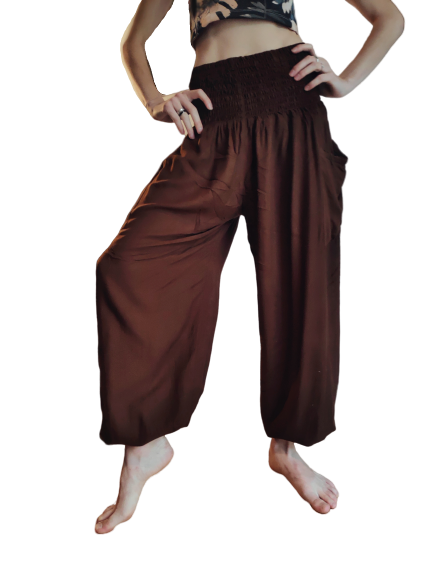 The image of brown Hippie Pants