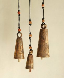 Fair Trade Upcycled India Bells