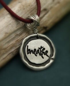 Thich Nhat Hanh Breathe Necklace