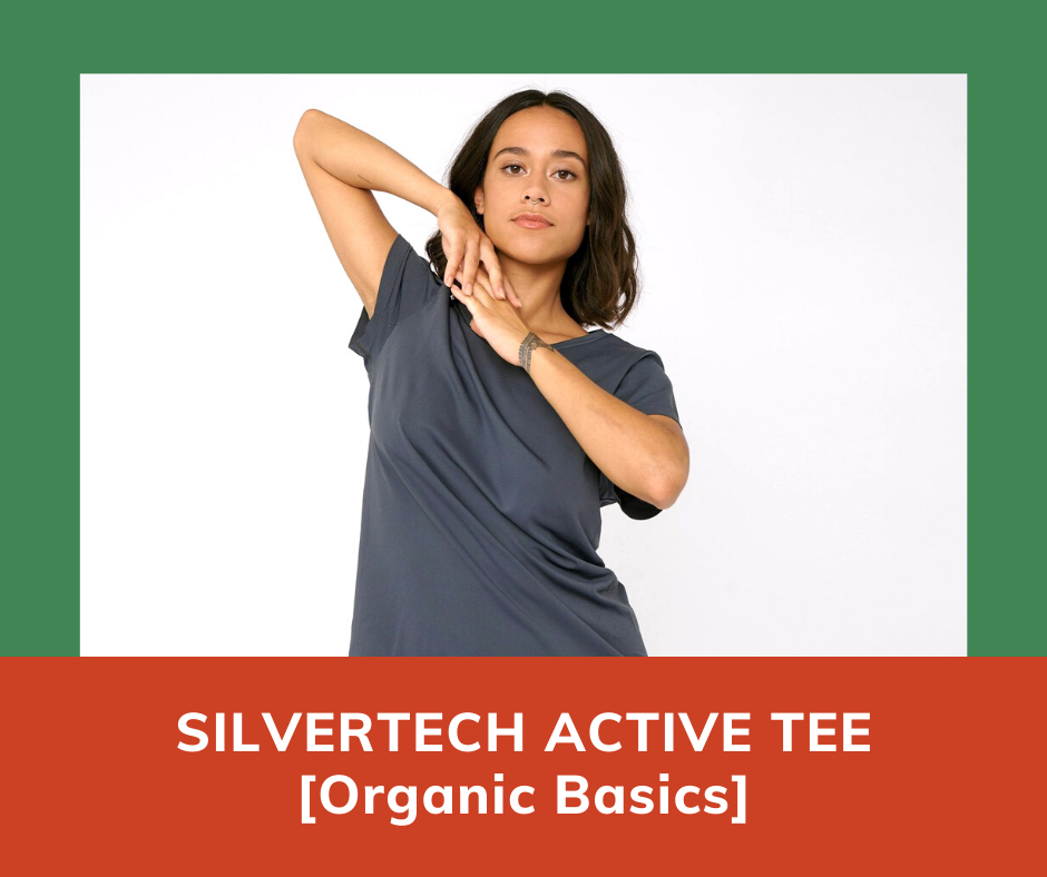 Best Yoga Tops: Organic Basics Active Tee [Click To See The Price]