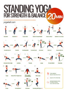 standing yoga for strength & balance [click here to get the free pdf]