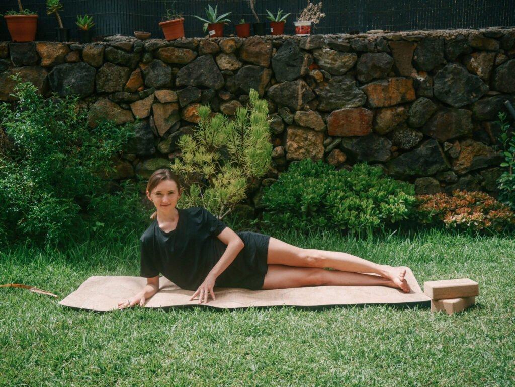Supine Side Stretch